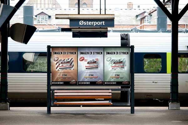 Banegårds reklame