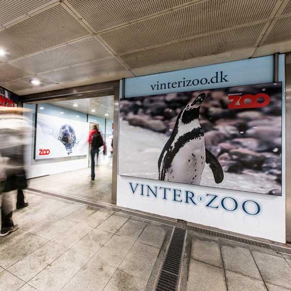 Reklame i Kbh's Metro