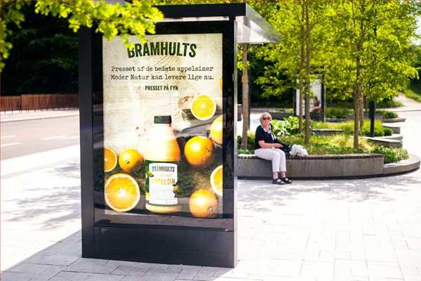 Reklamer i bybilledet