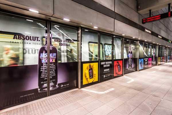 Reklamer i Metroen