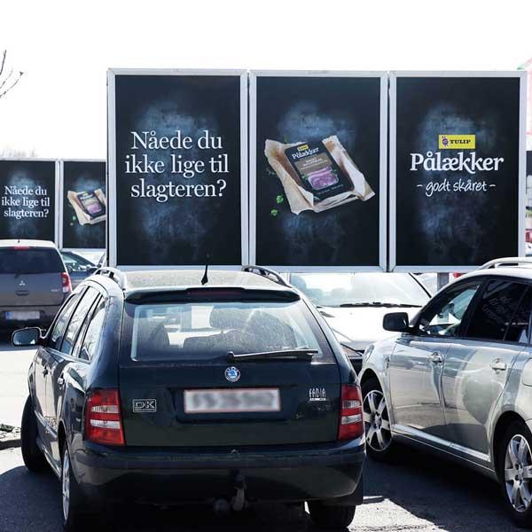 Reklamer ved detailhandlen